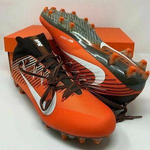 Nike Vapor Untouchable Cleats Orange Black sz 9.5